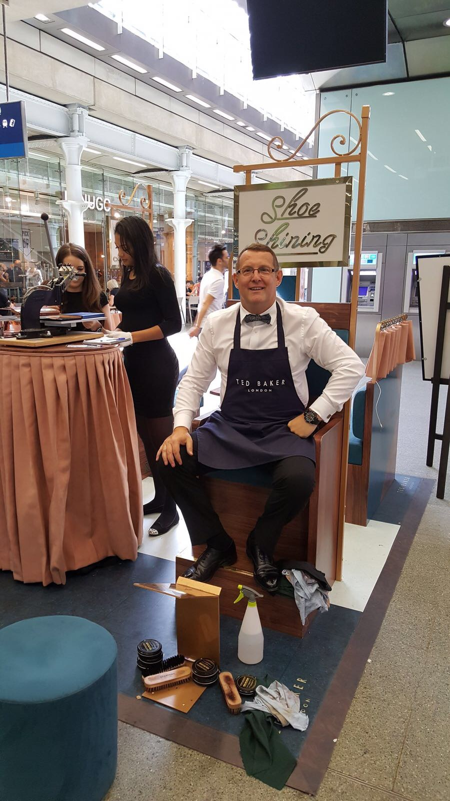 Privilege to partner again with Ted Baker For Another Marketing Event