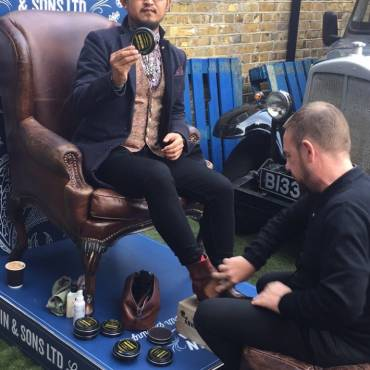 Shoeshine at the Best of Britannia 2017