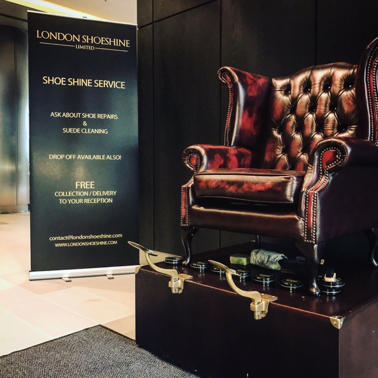 Shoeshine at London Forex Event