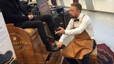 Why Ted Baker Shines Shoes